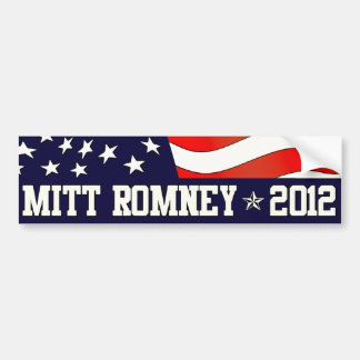 Mitt Romney President in 2012 Car Bumper Sticker