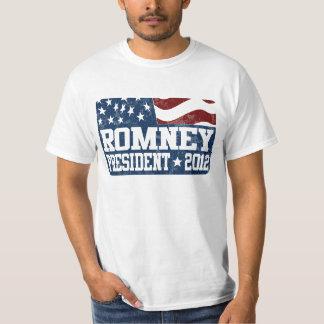 Mitt Romney President in 2012 T-Shirt