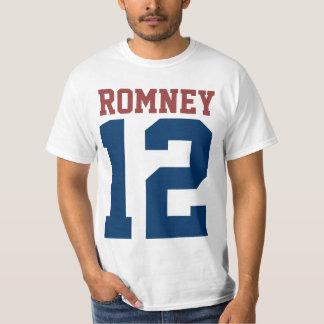 Mitt Romney President in 2012 T-shirts