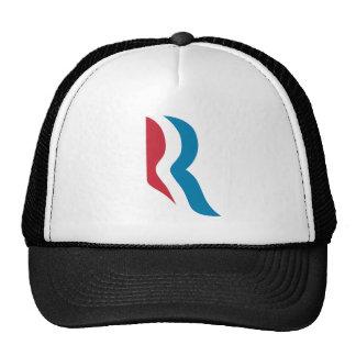 """Mitt Romney """"R"""" Logo President 2012 Trucker Hats"""