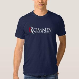 Mitt Romney - Vote American Tee Shirts