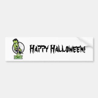 Mitt Zombie Car Bumper Sticker