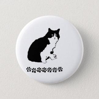 Mitten Kitten 6 Cm Round Badge
