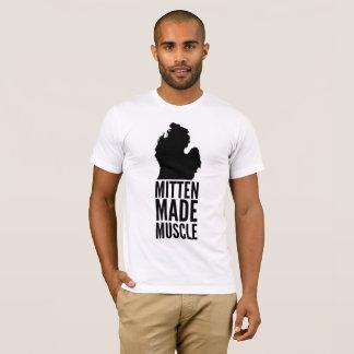Mitten Made Muscle Michigan T-Shirt