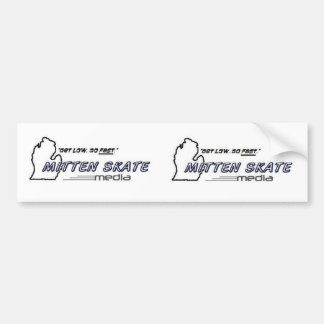 Mitten Skate Media Double Sticker