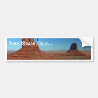 Mittens At Monument Valley Bumper Sticker