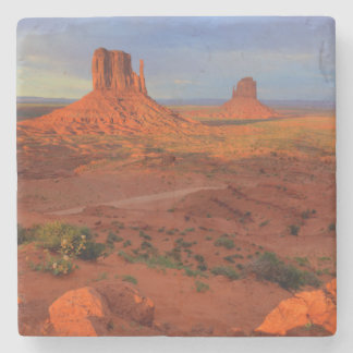 Mittens, Monument valley, AZ Stone Coaster