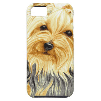 Mitzy a miniature Yorshire Terrier iPhone 5 Case
