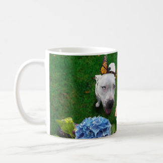 Mitzy the Mariposa (Dog with butterfly wings) Coffee Mug