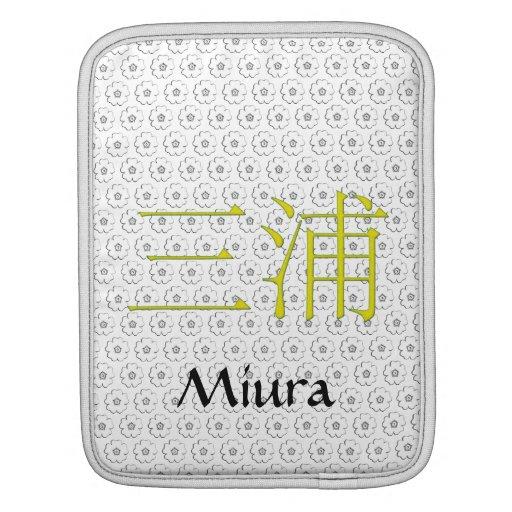 Miura Monogram Sleeves For iPads