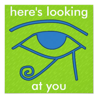Mix and Match Collection Egyptian Eye Card
