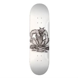 Mix-creature - Troll, Golem and Devil 20.6 Cm Skateboard Deck