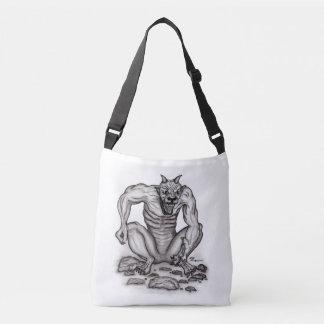 Mix-Creature - Troll, Golem and Devil Crossbody Bag