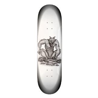 Mix-creature - Troll, Golem and Devil Skate Board