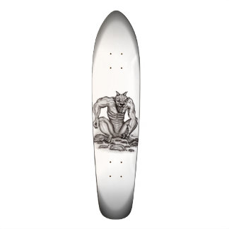 Mix-creature - Troll, Golem and Devil Skate Board Decks