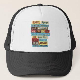 mix cute cool designs trucker hat