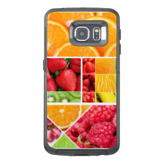 Mix FRuit Collage OtterBox Samsung Galaxy S6 Edge Case