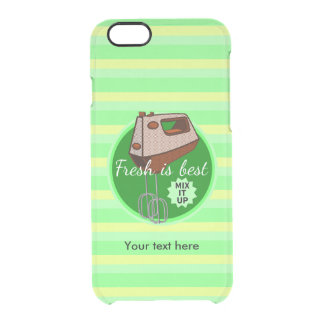 Mix it up Hand Mixer Retro Design Clear iPhone 6/6S Case