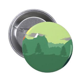 Mix Mountains 6 Cm Round Badge