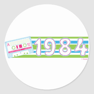 Mix Tape 1984 Stickers