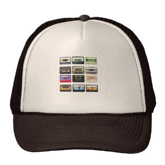mix tape from the 80s hats