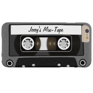 Mix Tape Personalized Barely There iPhone 6 Plus Case