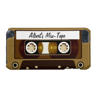 Mix Tape Personalized Gold iPod Touch 5G Case