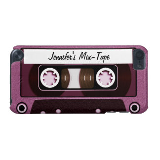 Mix Tape Personalized Pink iPod Touch (5th Generation) Cover