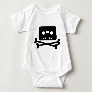 Mix Tape Pirate Baby Bodysuit