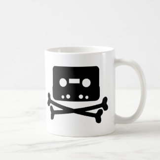 Mix Tape Pirate Basic White Mug