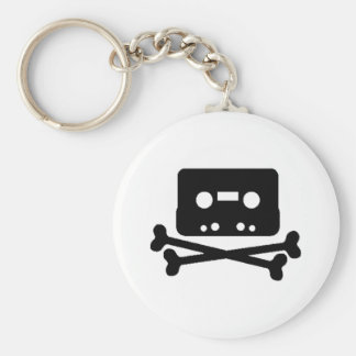 Mix Tape Pirate Key Chain