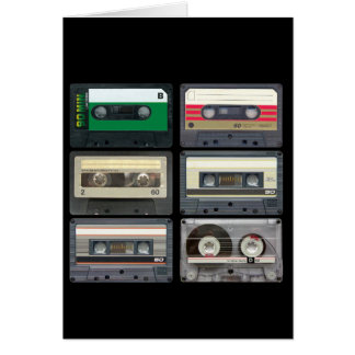 Mix Tapes Greeting Card