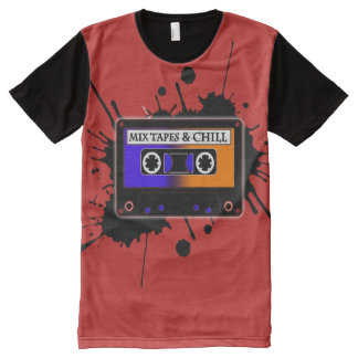 Mix Tapes & Chill II All-Over Print T-Shirt