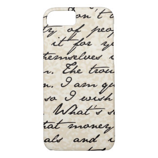 Mixed Advice Script Handwriting iPhone 7 Case