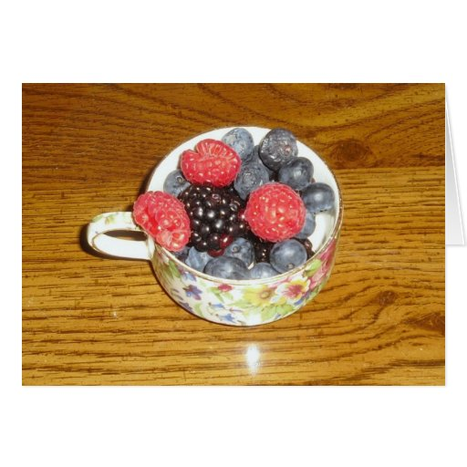 Mixed Berries Card