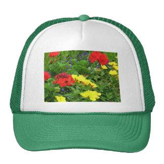 Mixed Blooms Olympia Farmer' s Market Garden Cap