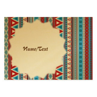 mixed border blue red pack of chubby business cards