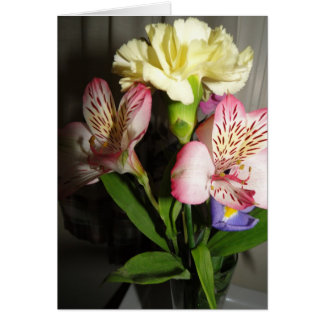 Mixed Bouquet, Thinking of You Card
