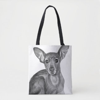Mixed Breed Chihuahua Tote Bag