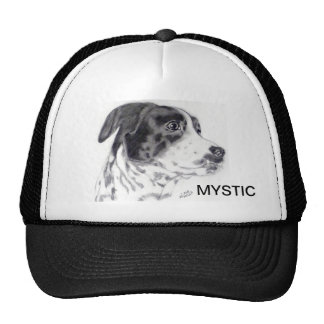 Mixed Breed Dog Cap original artwork- Carol Zeock