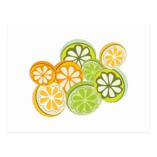 Mixed Citrus Postcard