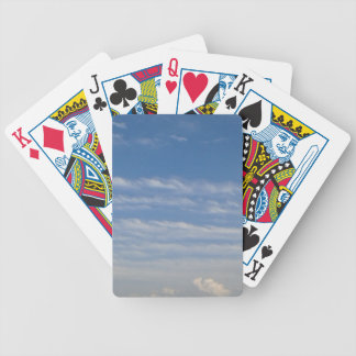 Mixed Clouds Bicycle Playing Cards