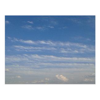 Mixed Clouds Postcard