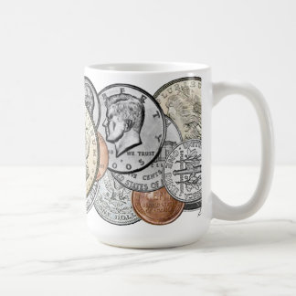 MIXED COINS MUG