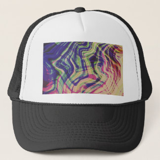 Mixed colors party trucker hat