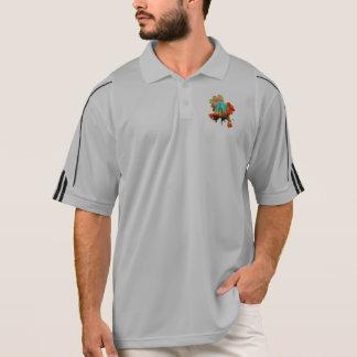 Mixed Colour & Tech - Advanced Spherical Flowers! Polo Shirt