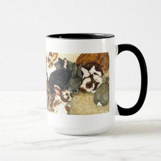 Mixed Company - Baby Rabbits Coffee Mug