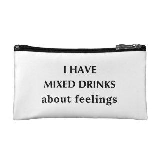Mixed Drink Feelings Cosmetic Bag