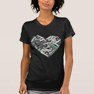 Mixed Feelings Cassette Tape Heart T-Shirt