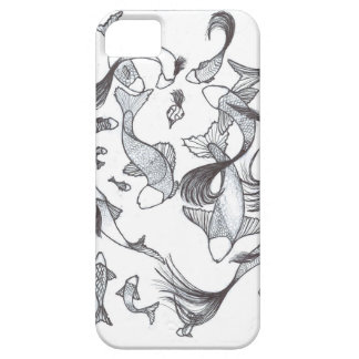 Mixed Fish Family Barely There iPhone 5 Case